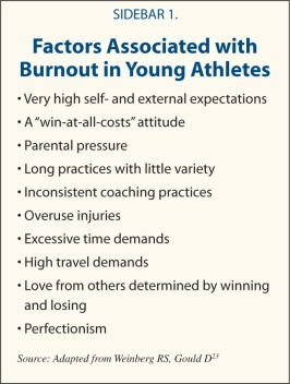 athlete burnout